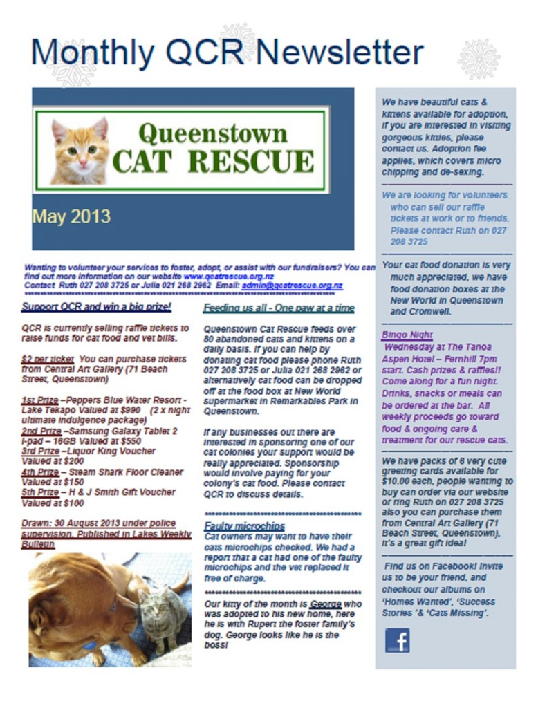 Newsletter May 13